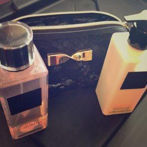 Victoria Secret Love is Heavenlylotion  and bag